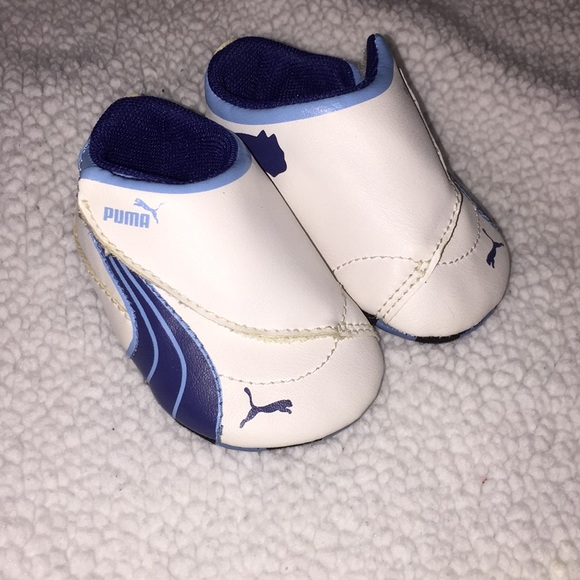 5f2cf8cf Baby boy Puma shoes 💕